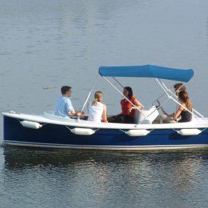 bateau-electrique-activites-nautiques-Loisirs Normandie-Lac Terre d'Auge-Pont L'Évêque